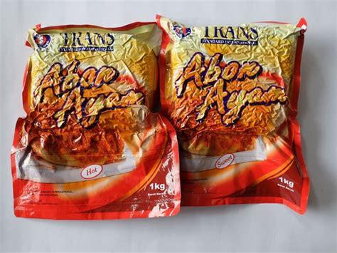 aneka merk abon ayam kemasan  enak  indonesia