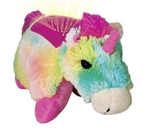 Pillow Pet Rainbow Unicorn - pillow pets dreamlites rainbow unicorn at mighty ape nz