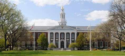 Massachusetts State College Mba by How To Get Into Harvard Business School Hbs Mba
