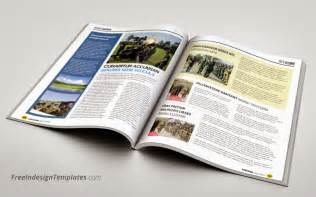 indesign magazine template free indesign simple magazine template 1 free indesign