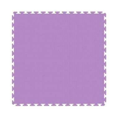 Evamat Polos 30 X 30 Cm 10 Pcs jual evamats polos karpet puzzle ungu 30x30cm 10 pcs