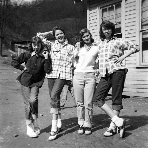 vintage photo blue jeans and bobby sox girl gang 1050 best saddle shoes and bobbie socks images on