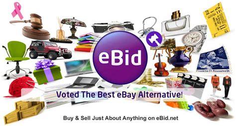 e bid ebid voted the best ebay alternative auction site