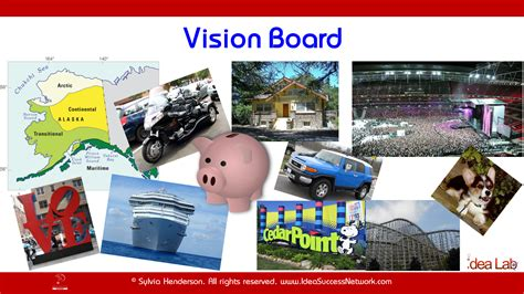 Help Your Ideas Take Shape Love Powerpoint Linkedin Vision Board Powerpoint Template
