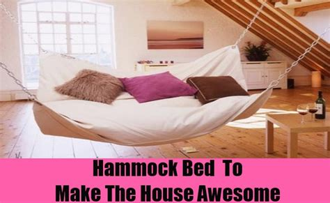 hammock instead of bed 35 ideas to make the house awesome diy home life
