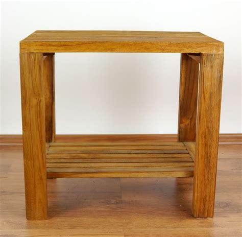 teak wood end table teak wood end table side table handmade java furniture
