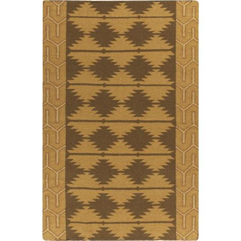 tone rugs surya tone ii gold 5 ft x 8 ft indoor area rug jtii2066 58 the home depot