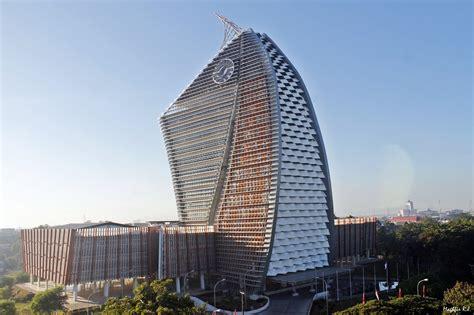 gedung gedung tinggi ikon kota kota  indonesia yusuf
