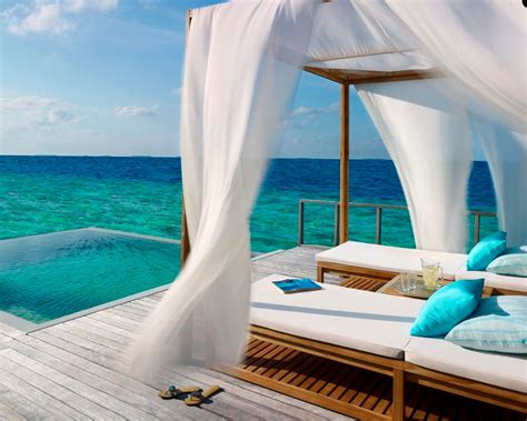 ocean bedroom dusit thani maldives lets go maldives