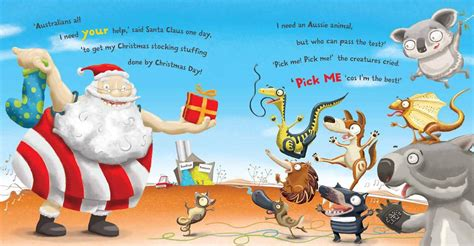 booktopia santa s aussie mix up with cd by colin