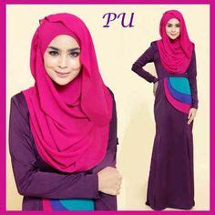 Gamis Modern Pink Byk Warna pink maxis and modern on