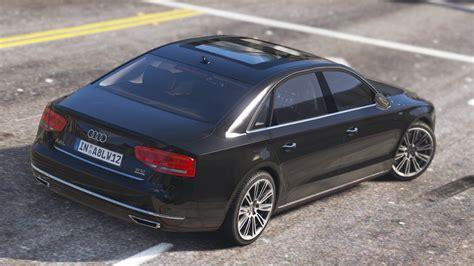 Audi A8 L W12 Quattro by 2010 Audi A8 L W12 Quattro Add On Gta5 Mods