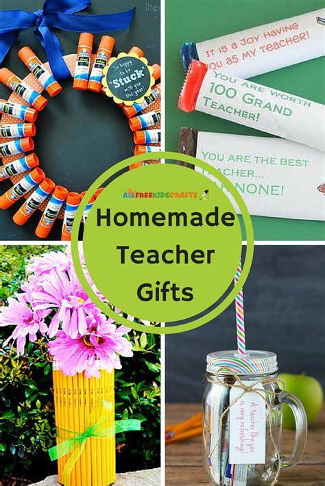 diy crafts for teachers 13 gifts allfreekidscrafts