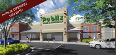 first look at rendering of new publix grocery store in