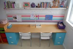Diy Kitchen Desk Diy Filing Cabinet Desk Northstory