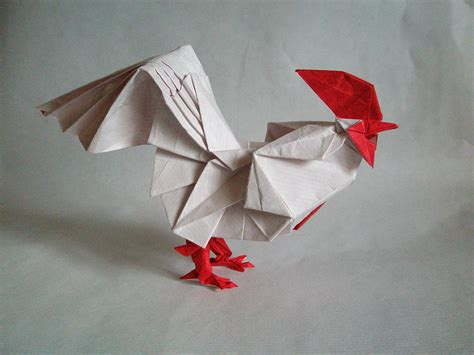 new year fish origami 2017 new year origami rooster extravaganza