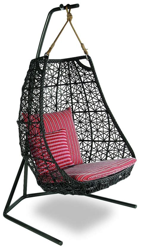 hanging swing chair outdoor hanging swing chair patio rattan swing chair by patricia