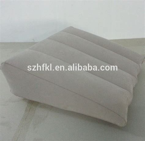 inflatable bed wedge pillow inflatable bed wedge with washable cloth cover buy