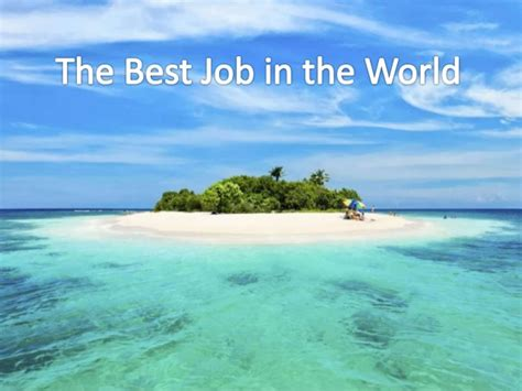 best jib occupations the quot best quot in the world