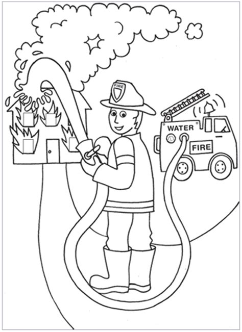 Fire Fighter Hot Wheels Coloring Pages And Sheets Can Be Found In The  sketch template
