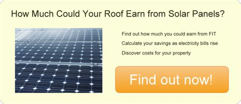 solar panels how much uk feed in tariff infographic