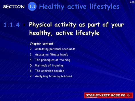 Healthy Active Living Essay by 1 1 4 Physical Activity As Part Of Your Healthy Active Lifestyle