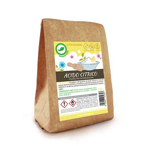 Utilizzo Acido Citrico acido citrico 1kg verdevero
