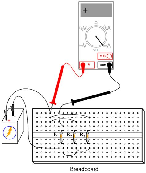 measuring resistors in series current divider dc circuits electronics textbook