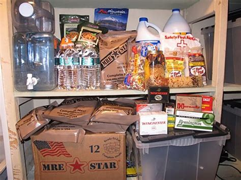 Shelf Food by How To Bug In How To Survive A Disaster The