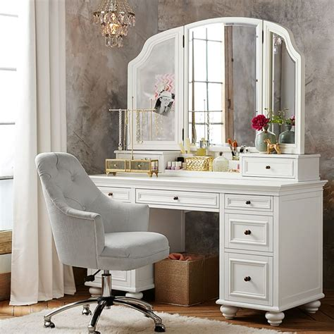 white vanities for one of a washroom stylistic theme