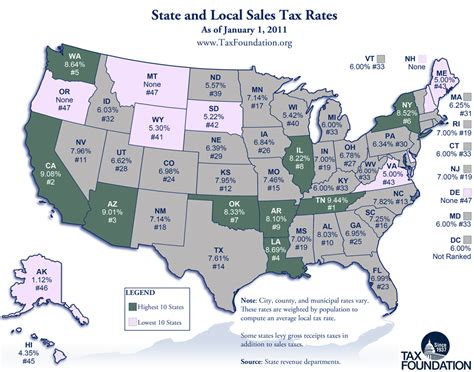 what is washington state sales tax state sales tax map bing images