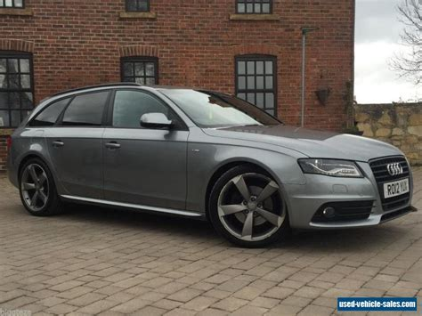 Audi A4 Avant Black Edition For Sale by 2012 Audi A4 S Line Black Edition T For Sale In The United