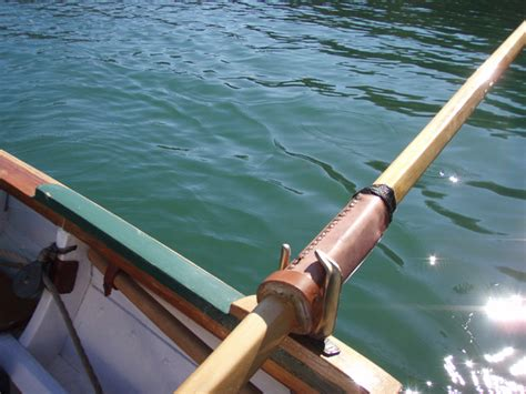 boat oars with oar locks oar shaft oarlock size question