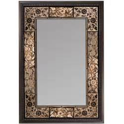 tiled bathroom mirrors vanity mirrors wall mounted french tile dark traditional frame bathroom makeup ebay