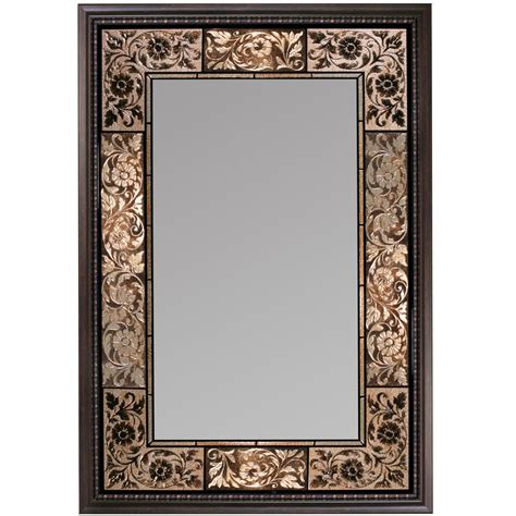 Frame Bathroom Wall Mirror Vanity Mirrors Wall Mounted Tile Traditional Frame Bathroom Makeup Ebay