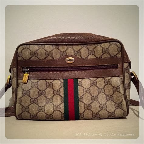 Tas Slempang Dan Bag Gucci 70506 An mijn liefde voor vintage designer items my happiness