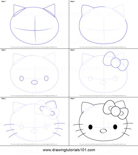 how to draw hello printable step by step