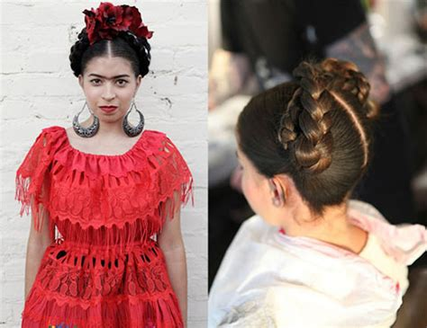 Frida Kahlo Hairstyle by 17 Cool Hairstyles Tutorials And Iconic