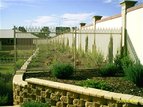 mcnamara fencing contractors retaining walls
