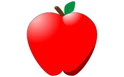 Garpu Buah Bentuk Hati T011160 15 clipart buah apel gratis www buahaz