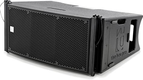 Cabinet Design Software the box pro a 10 la line array thomann 214 sterreich