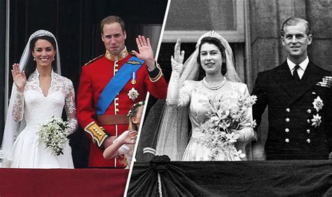 Royal Wedding Comparison by And Philip 70th Anniversary How The Royal Wedding