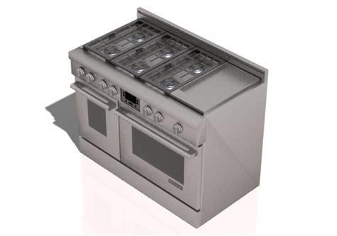 piastra per cucinare a gas elettrodomestici 3d cucina 6 fuochi a gas e piastra con
