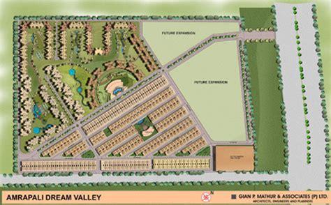 layout plan of amrapali zodiac amrapali dream valley