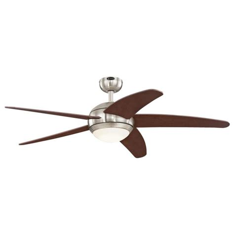 ceiling fan with dimmable light westinghouse bendan led 52 inch five blade indoor ceiling