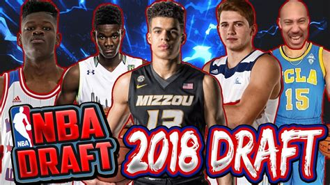 Liangelo Draft 2018 Nba Mock Draft Michael Porter Jr Collin Sexton