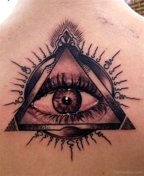 eyeball tattoos designs eye on back designs pictures
