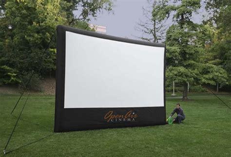 backyard movie screens 16 foot inflatable outdoor screen