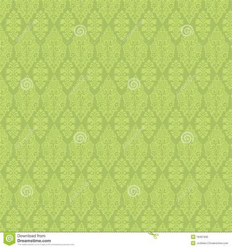 wallpaper green vintage green vintage damask seamless wallpaper stock illustration
