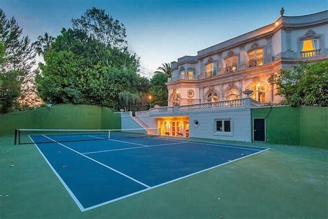 34 backyard courts for different sports tennis